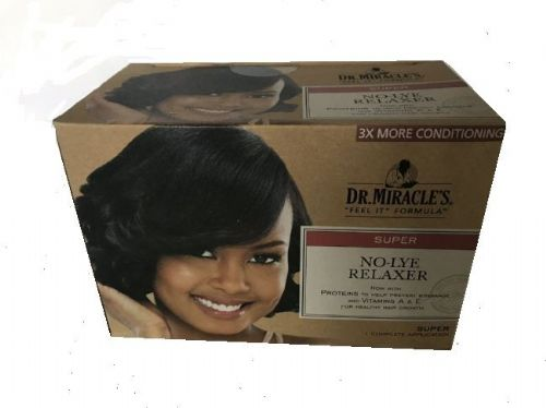 DR Miracle Feel It Formula  No Lye Relaxer Kit- Super